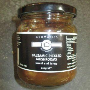 CheeseShop Aromatics Balsamic Pickled Mushrooms