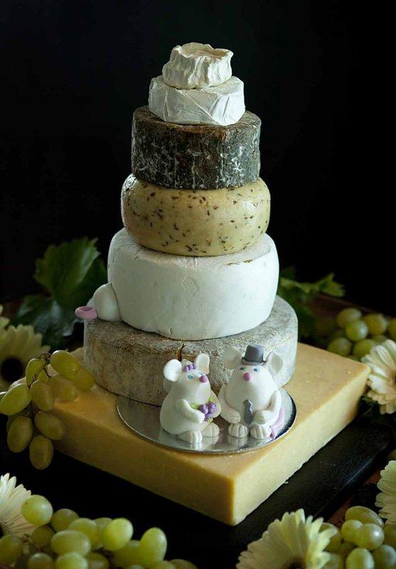 CheeseShop wedding cheese stack