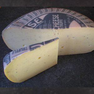 CheeseShop Dutch Truffle Gouda cut fresh