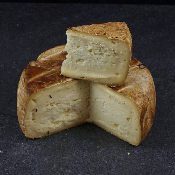 CheeseShop Evansdale Smoked Brie cut fresh