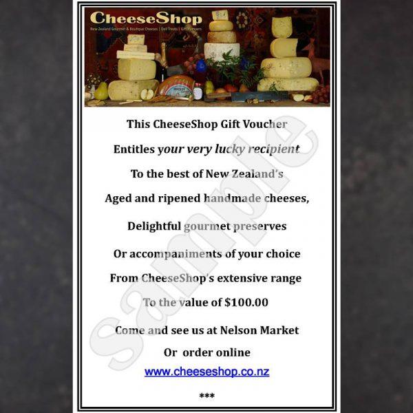 CheeseShop Gift Voucher