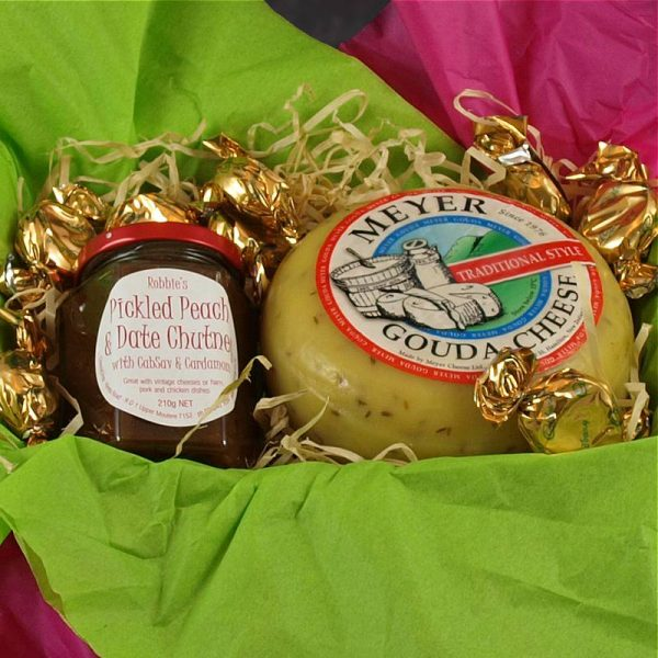 CheeseShop Gourmet Gift Hamper Baby Gouda