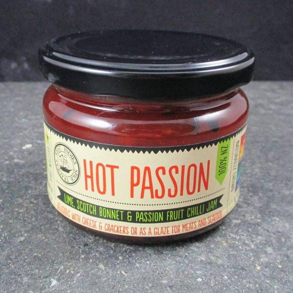 CheeseShop Hot Passion Lime Scotch Bonnet and Passion Fruit Chilli Jam