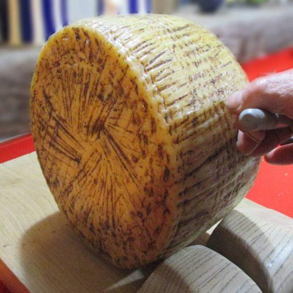CheeseShop Italian Black Truffle Pecorino cut fresh