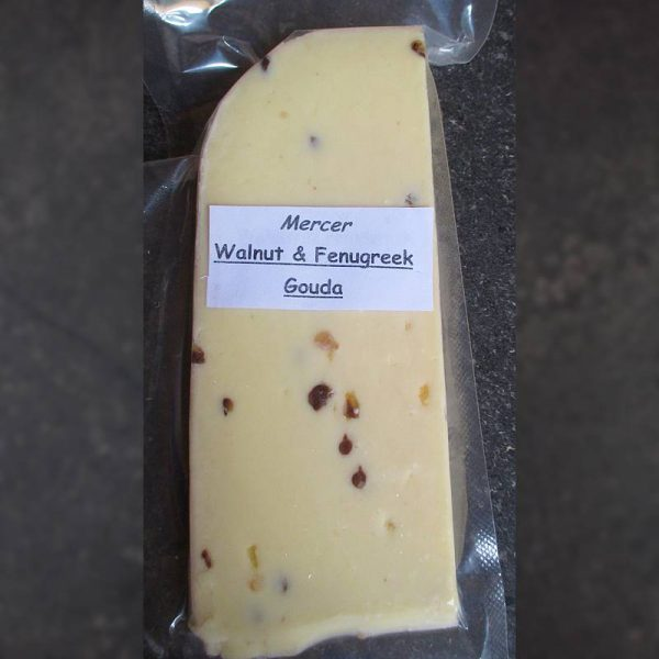 CheeseShop Mercer Walnut and Fenugreek Gouda
