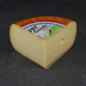 CheeseShop Meyer Smoked Gouda cut fresh