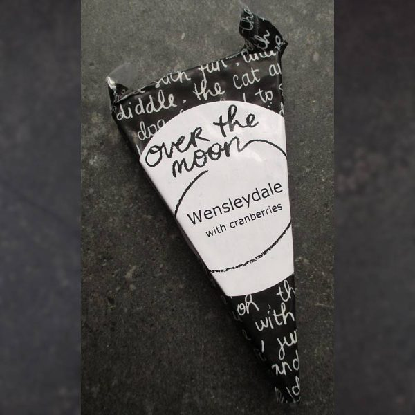 CheeseShop Over the Moon Dairy Wensleydale with Cranberries