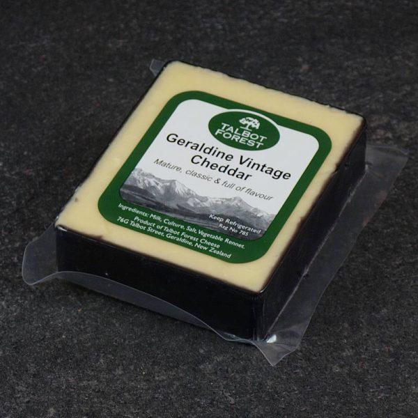 CheeseShop Talbot Forest Geraldine Vintage Cheddar