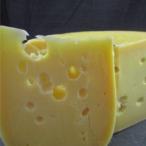 Cut fresh cheeses